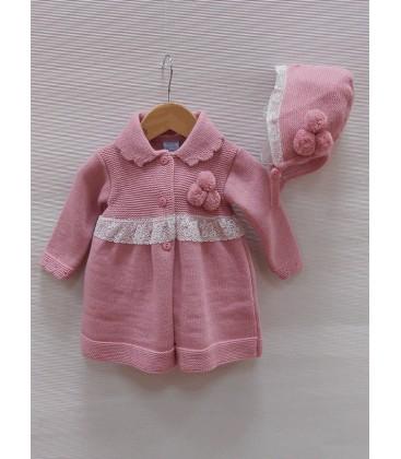 Conjunto de polainas rosa
