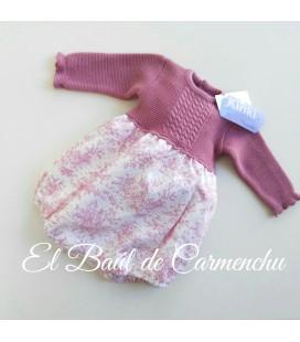 Rana cuerpo tricotos toile