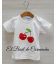 Camiseta cerezas